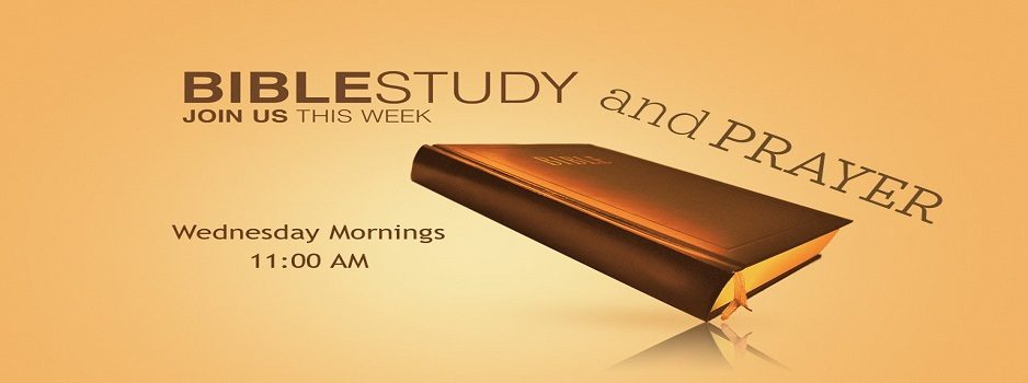 Wed Morning Bible Study