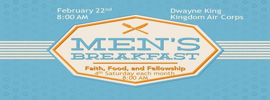 Mens Breakfast - Feb 20
