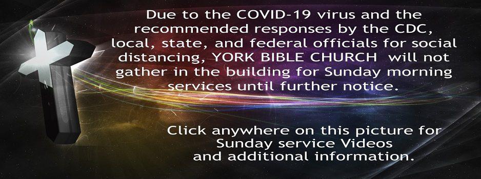 COVID-19 Virus Statement