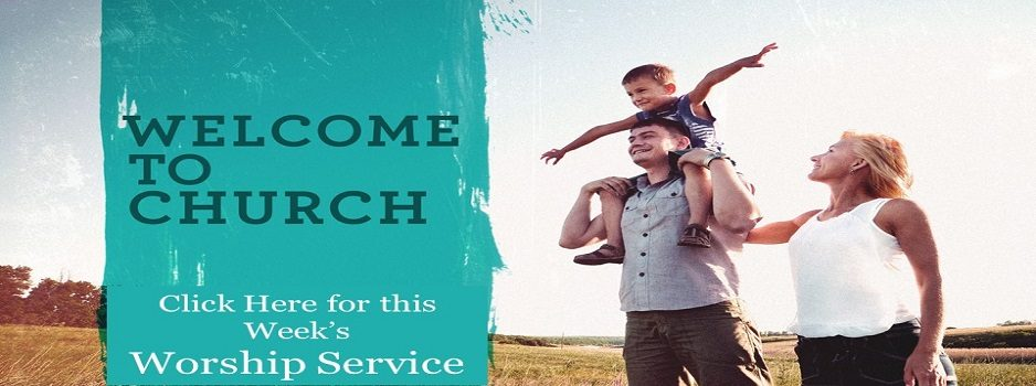 Welcome to Church Banner