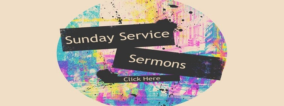 Sunday Service Sermons Sept 2020