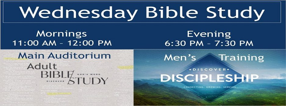 Wednesday Bible Study - Slide